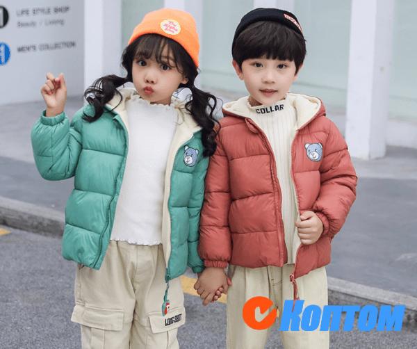 Детская куртка с капюшоном AL002