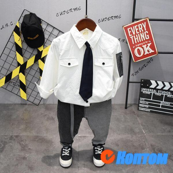 Рубашка для мальчика AA026