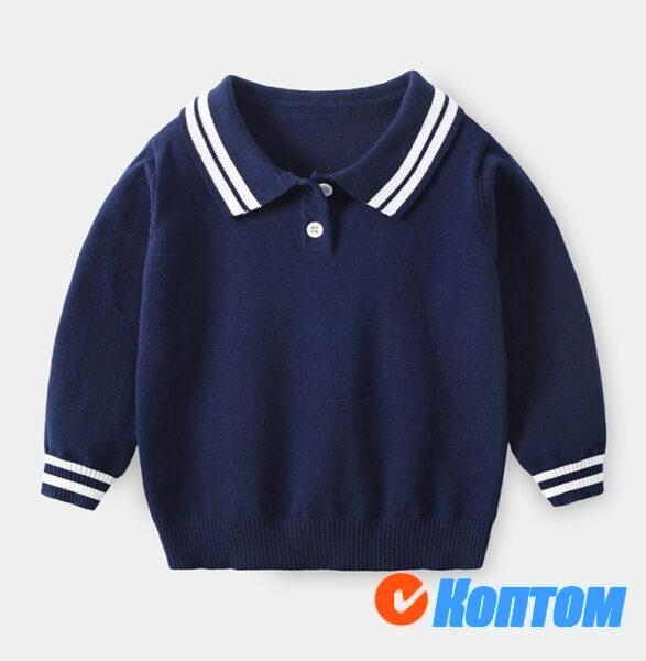 Вязание Polo для мальчика AW003
