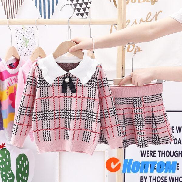 Детский свитер комплект для девочки AR009