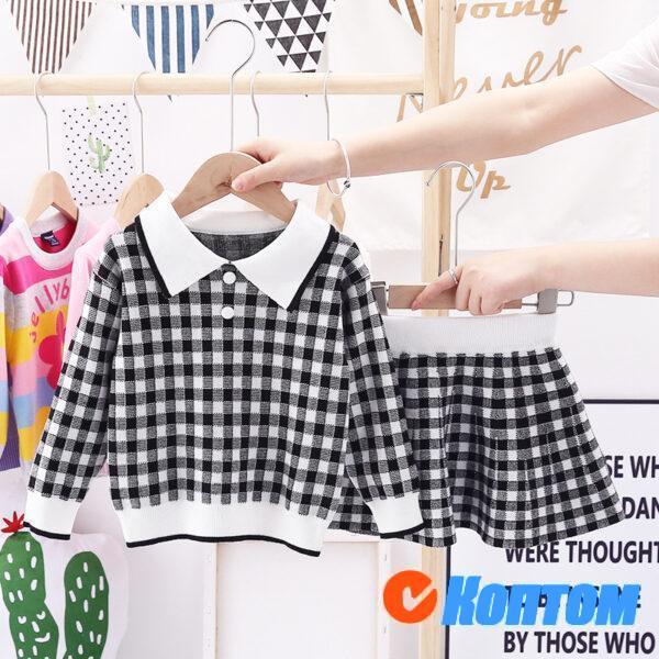 Детский свитер комплект для девочки AR010