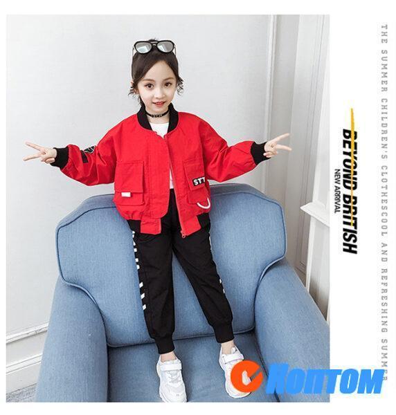 Осенние костюмы для девочек YAH062