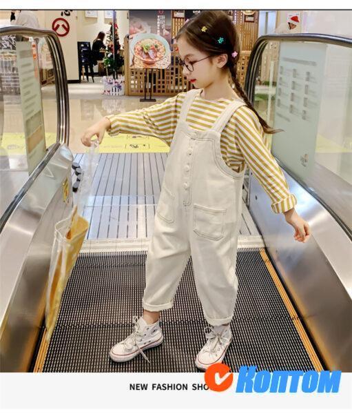Детской модный костюм  с длинным рукавом для девочки YAH047