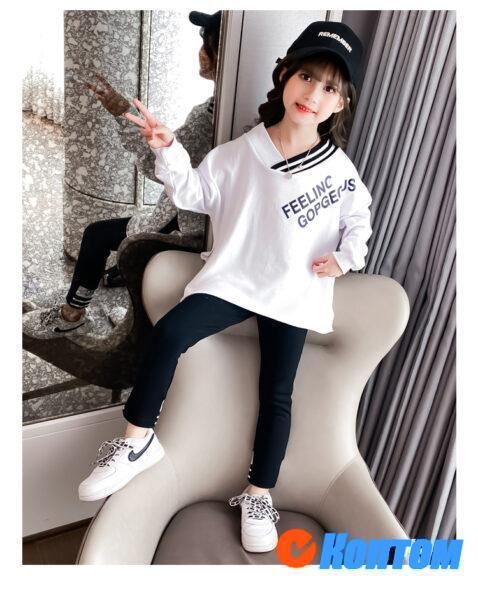 Детский модный костюм для девочки YAH065