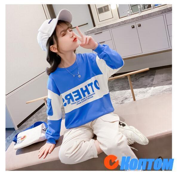 Детский модный костюм для девочки YAH040