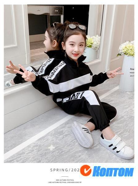 Детский модный костюм для девочки YAH063