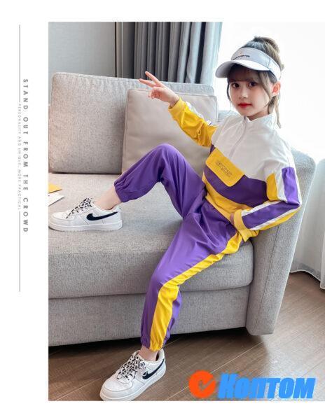 Детская футболка для девочики YAH034
