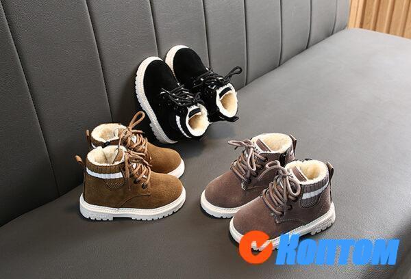 Детские зимние ботинки  YBE061
