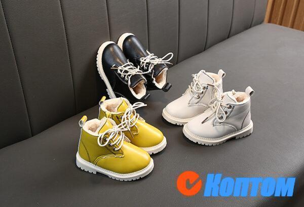 Детские зимние ботинки  YBE064