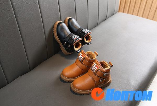 Детские зимние ботинки  YBE068