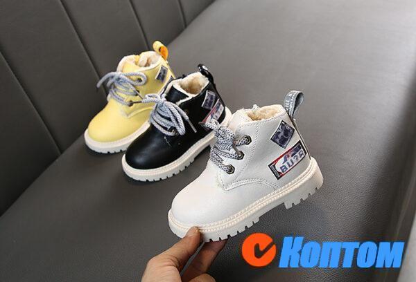 Детские зимние ботинки  YBE062