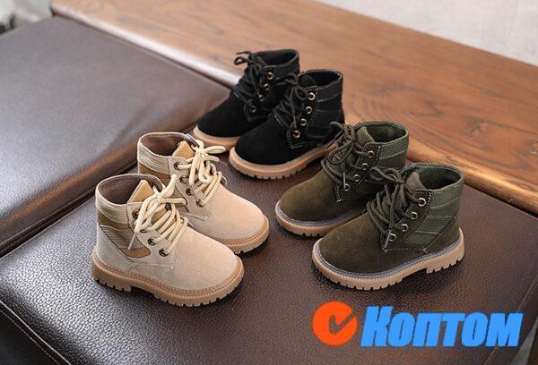 Детские ботинки  YBE060