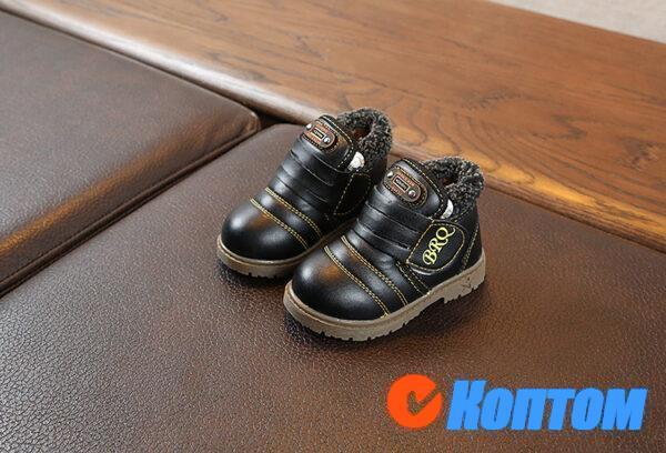 Детские зимние ботинки  YBE067