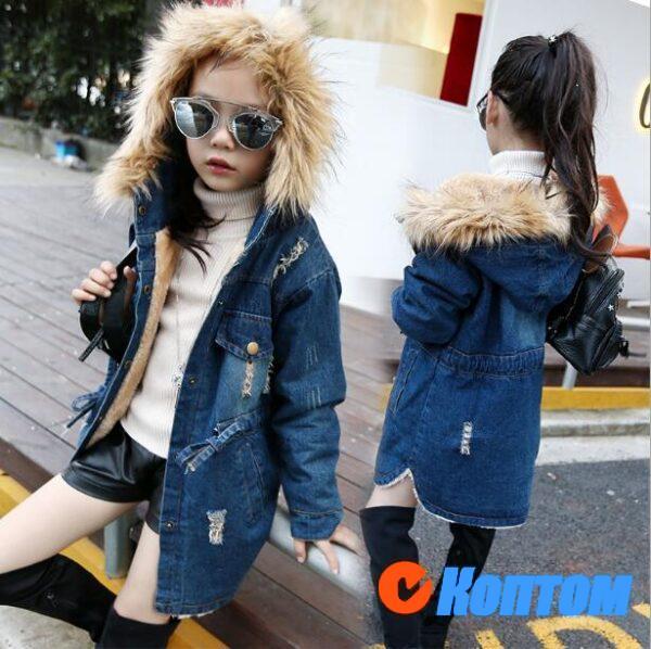 Зимние куртки для девочек BJ002