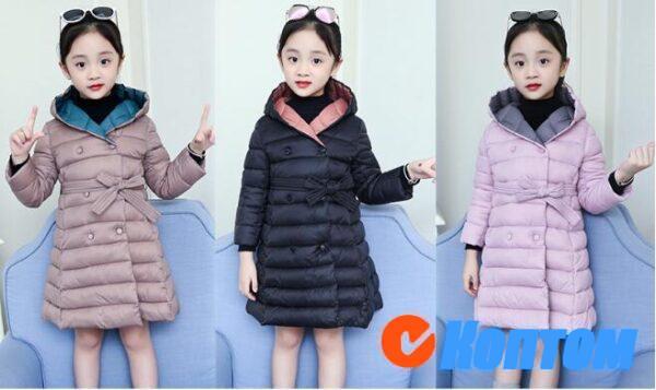 Зимние куртки для девочек BJ003