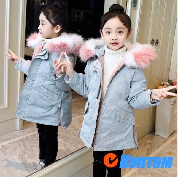 Зимние куртки для девочек BJ005