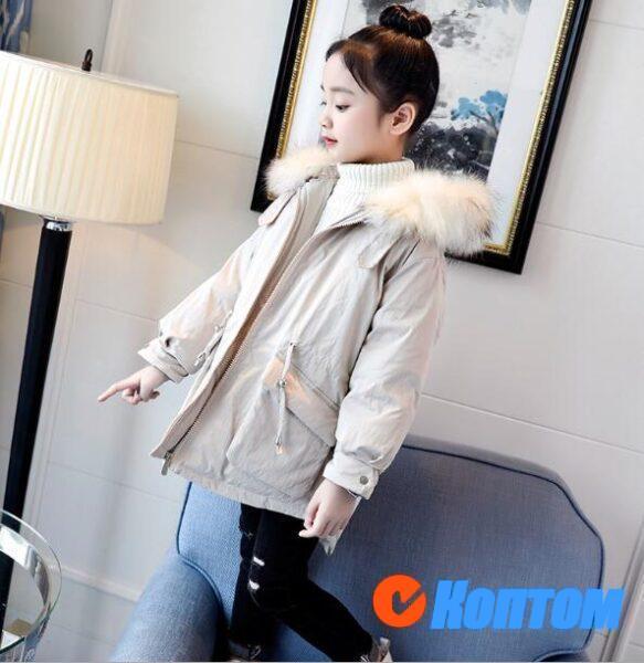 Зимние куртки для девочек BJ007