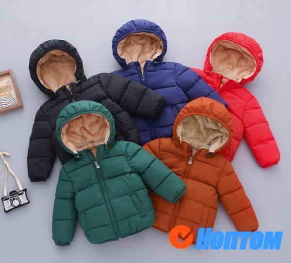 Зимние куртки для девочек BQ002
