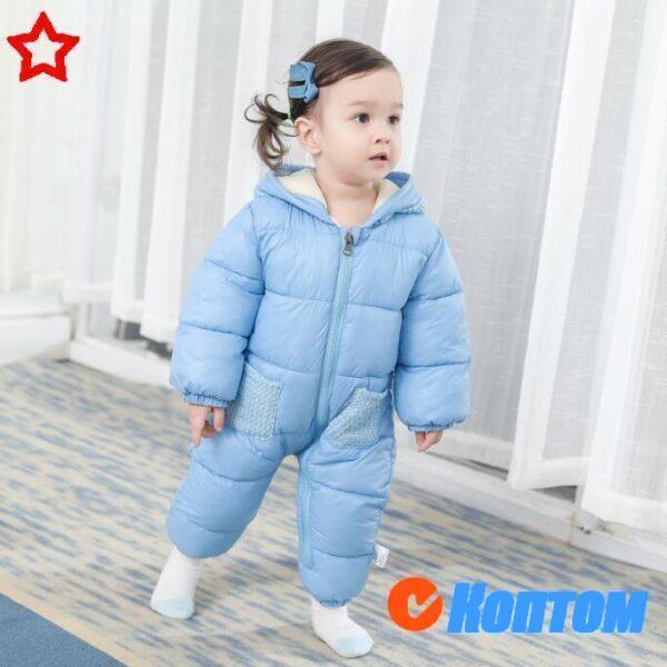 Зимние комбинезоны для детей BU003