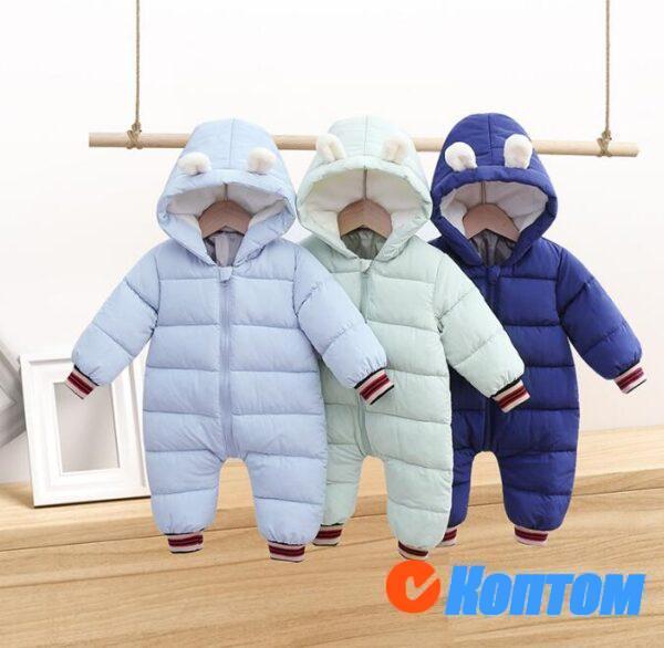 Зимние комбинезоны для детей BU004
