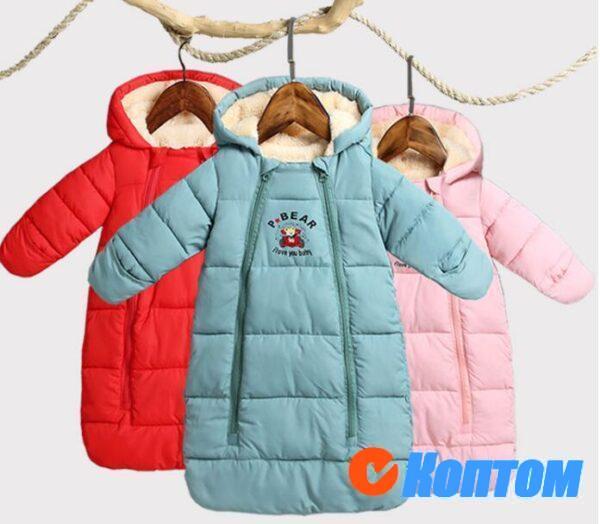 Зимние комбинезоны для детей BU006