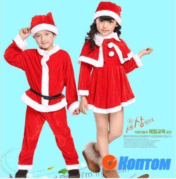 Костюм детский Дед Мороз DA002