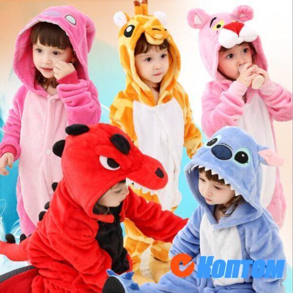 Детская Пижама Кигуруми CF001