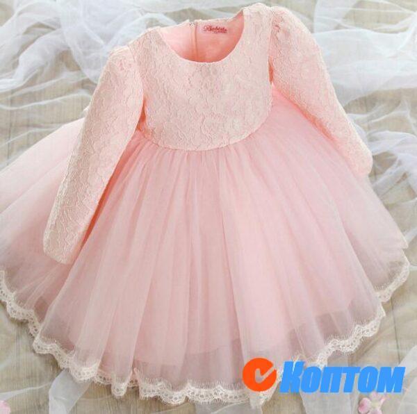 Детские новогодние платье CT001