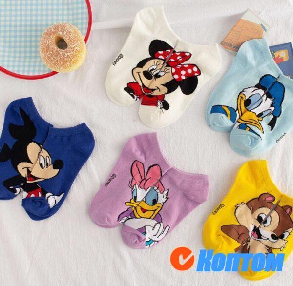 Детские новогодние носки DI001
