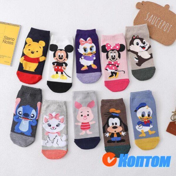 Детские новогодние носки DI002
