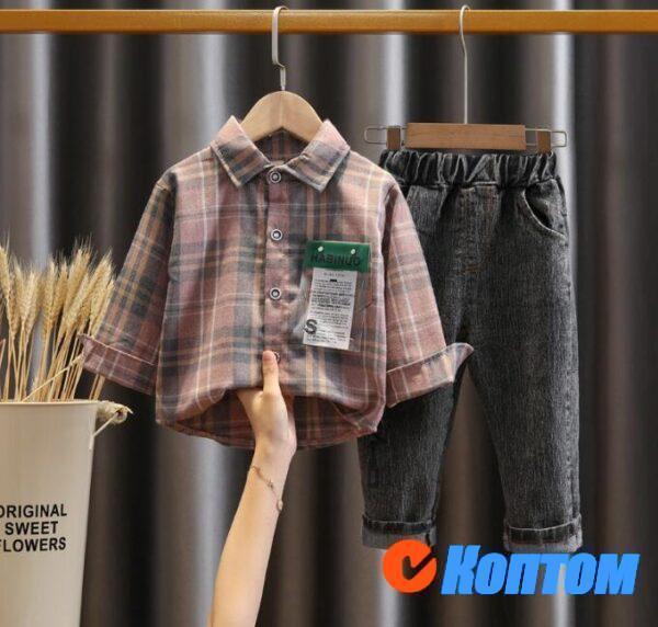 Комплект детской одежды для мальчика DJ006