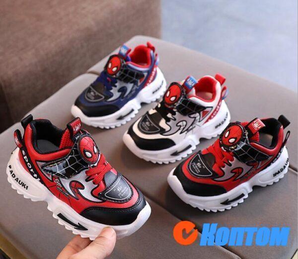 Модные крутые паукообразные кроссовки для маленьких девочек и мальчиков DR003