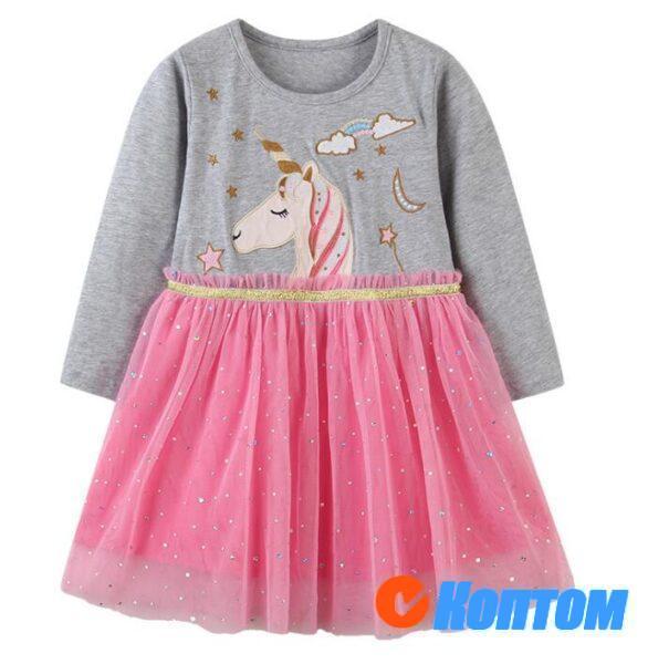 Платье для девочек 210113