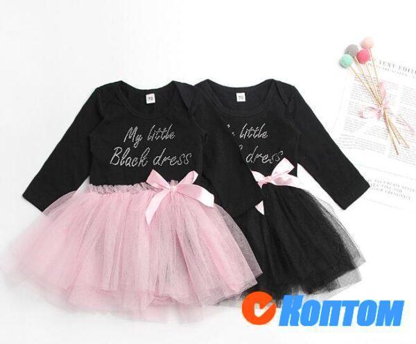 Платья для девочек 210208